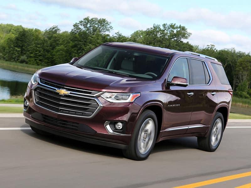 2021 Chevrolet Traverse Powertrains and Fuel Economy