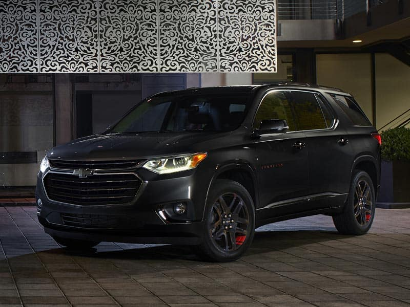 2021 Chevrolet Traverse Styling and Trim Levels