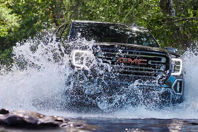 2020 GMC Sierra 1500 Crossing a River