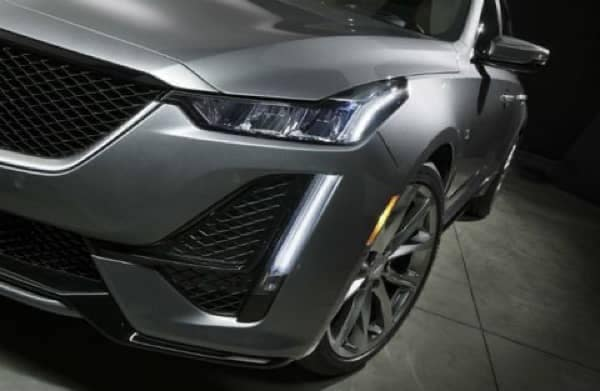 Silver 2020 Cadillac CT5 Sport