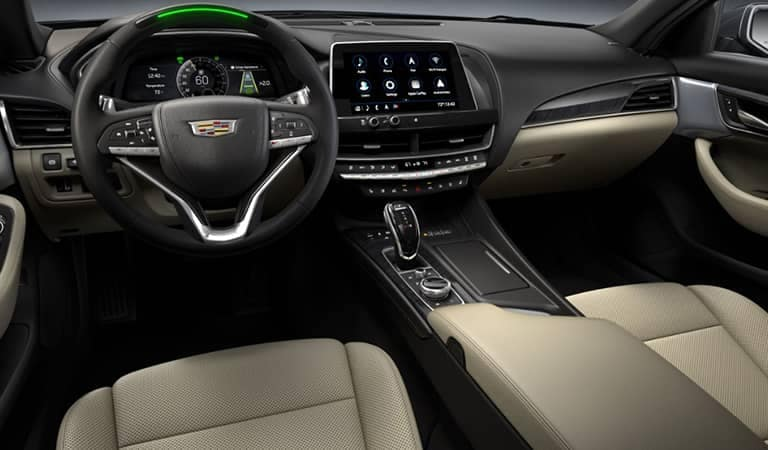 cadillac inside the front seat 3