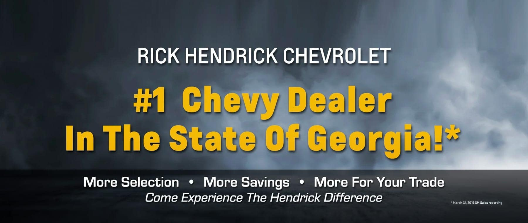 #1 Chevy Dealer in State of Georgia!
