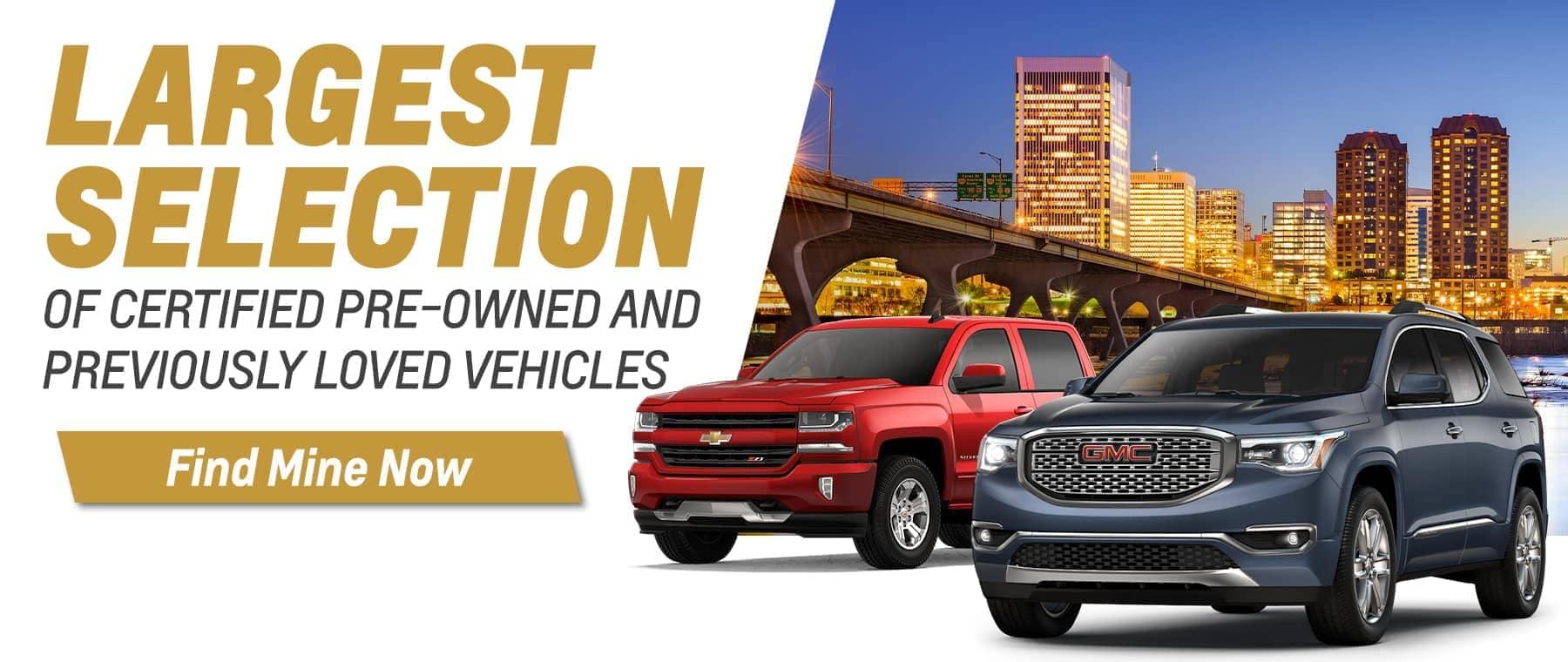 Largest Selection of Pre-Owned