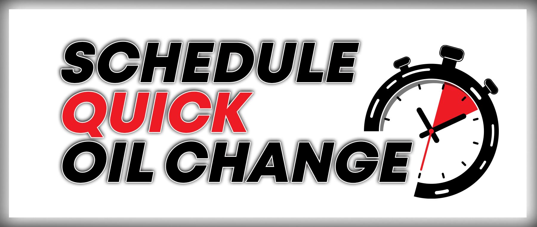 Schedule Oil Change