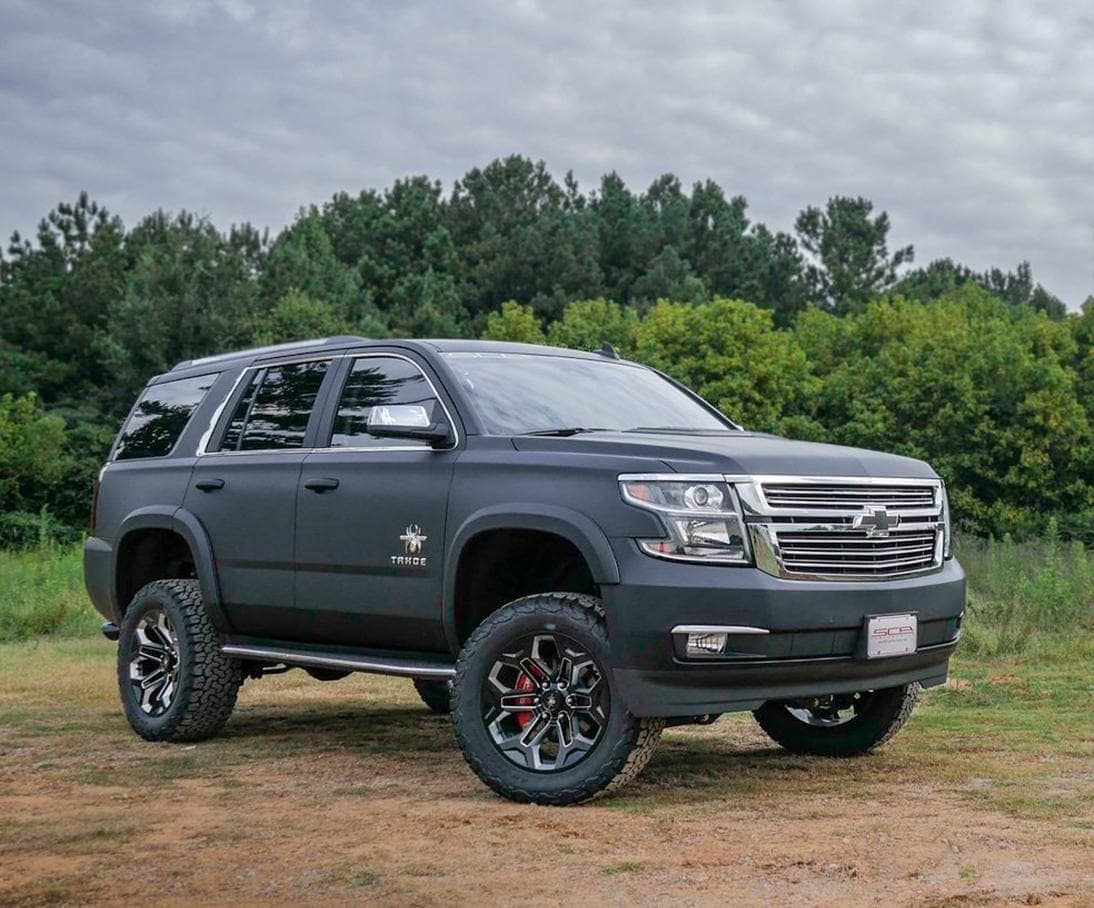 2019 Chevy Tahoe black widow