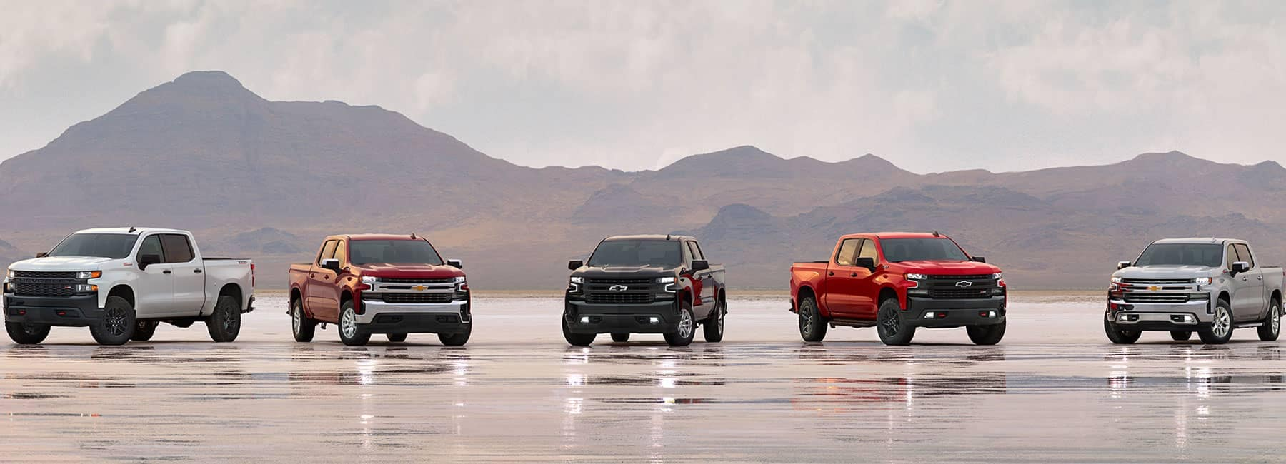 2019-Chevrolet vehicles on the beach