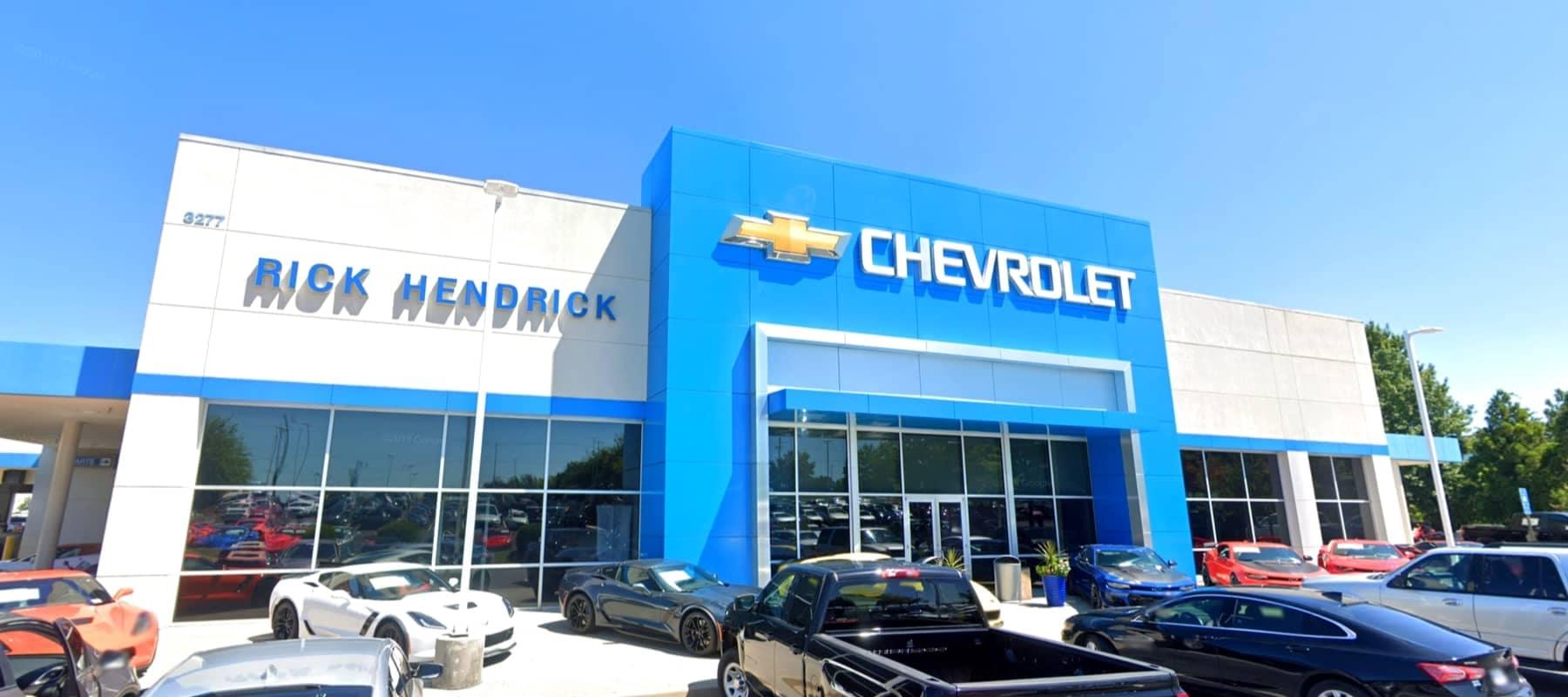 An exterior shot of Rick Hendrick Chevrolet Duluth
