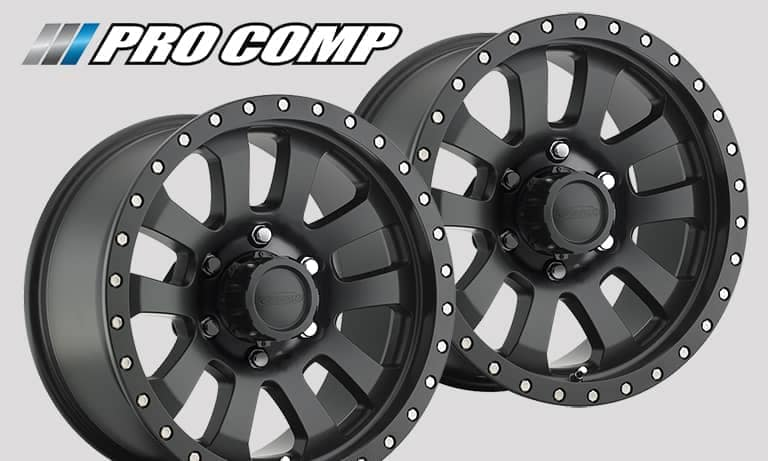 Pro Comp Alloy Wheels