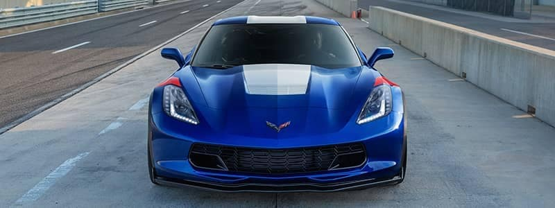 Corvette Grand Sport 01 blue vehicle