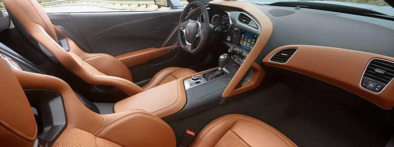 Corvette Grand Sport02 brown interior