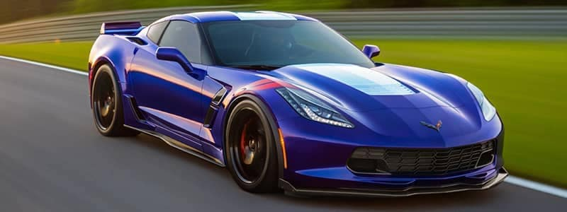 Corvette Grand Sport 03 blue vehicle