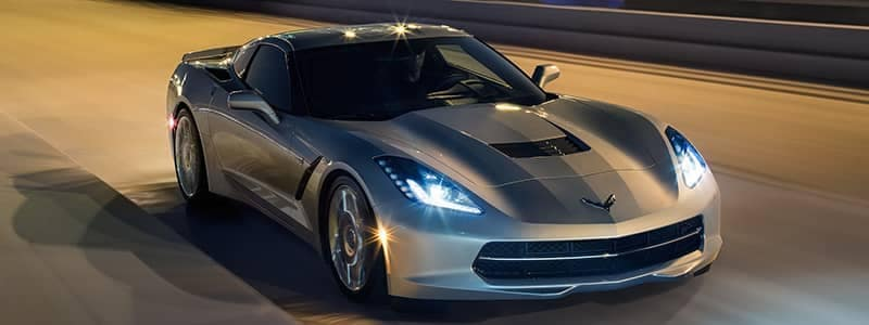 Corvette Stingray01 silver vehicle