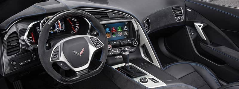 Corvette Stingray02 interior vehicle