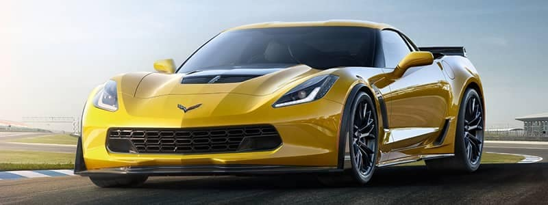 Corvette Z0601 yellow car