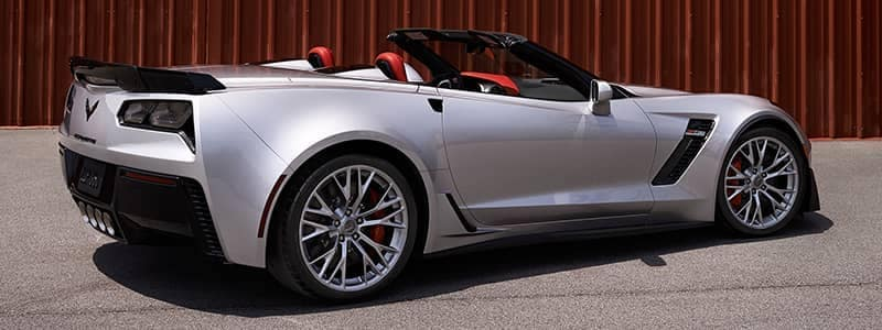Corvette Z0603 silver car