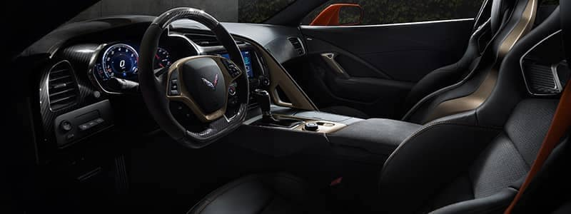 Corvette ZR102 interior