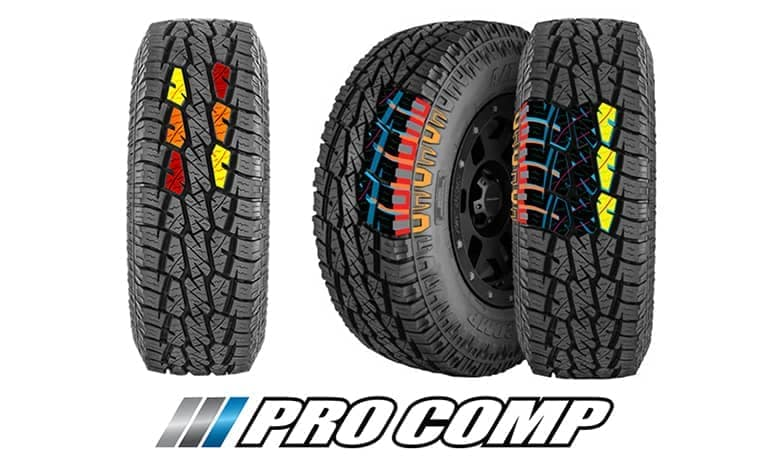 Pro Comp AT Sport Tires