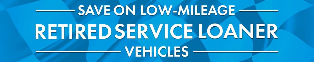 Retired Service Loaner banner