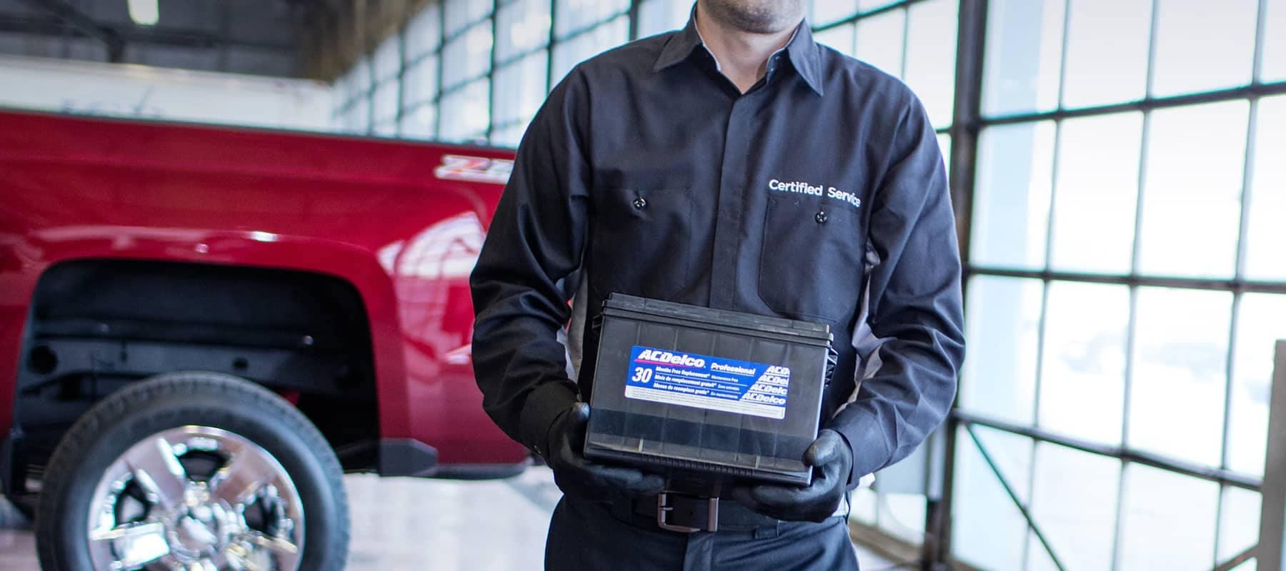 GM Service Batteries