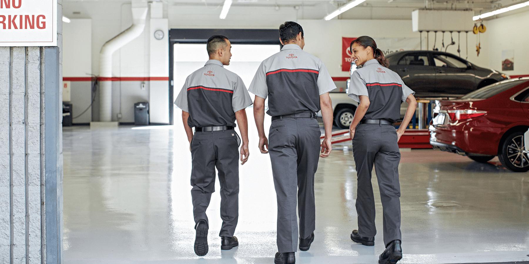Toyota Service Techs