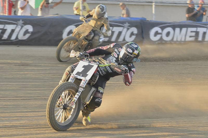 jared mees flat track race 2019