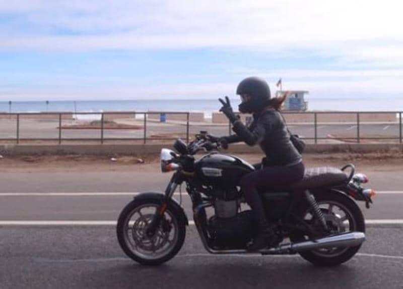 motorcycles help improve stress