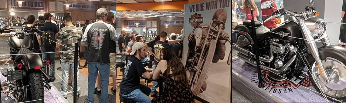 Riding High Harley-Davidson Bar images