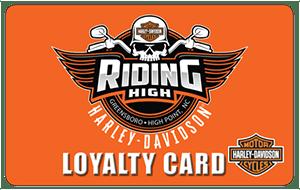 ridinghighharleydavidson-loyaltycard