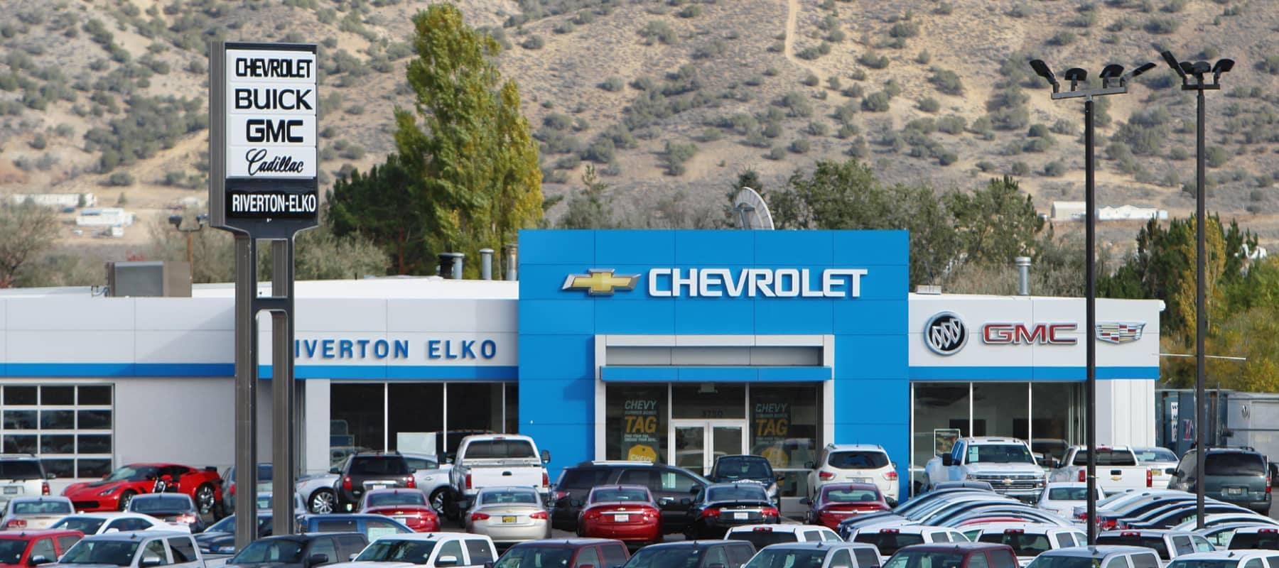 exterior of Riverton-Elko GM Superstore dealership