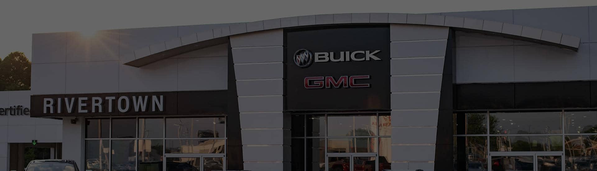 main entrance to Rivertown Buick GMC