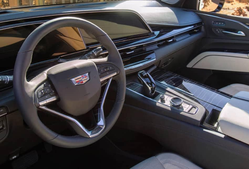 2021 Cadillac Escalade Interior copy