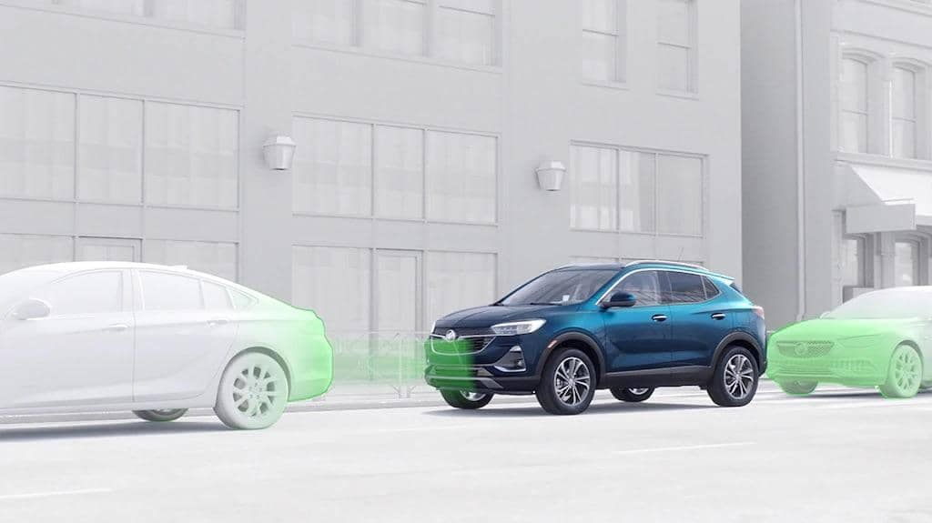 automatic Parking assist with braking