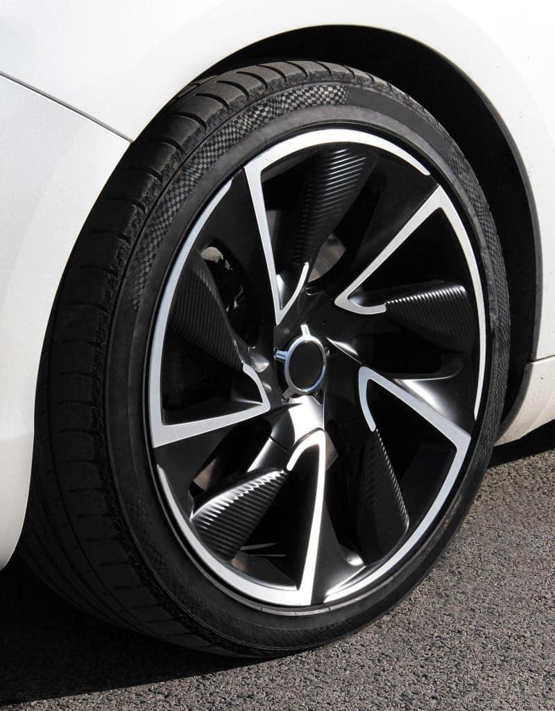 Flat Tire On Road