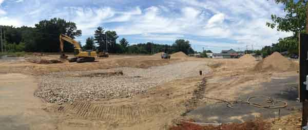July 14, 2014  -  Week 5 of Construction