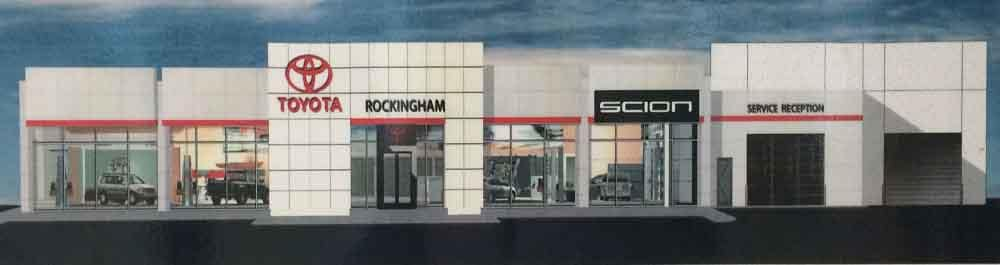 new Rockingham Toyota Scion facility