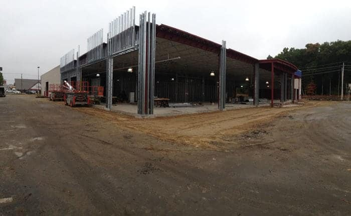 October 7, 2014  -  Week 17 of Construction