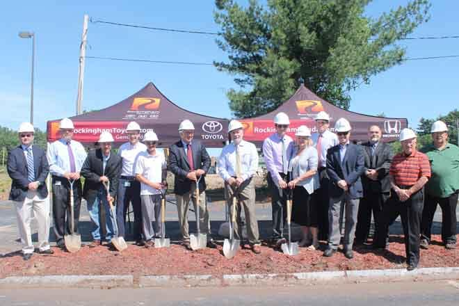 June 15, 2014 - Ground Breaking Ceremony