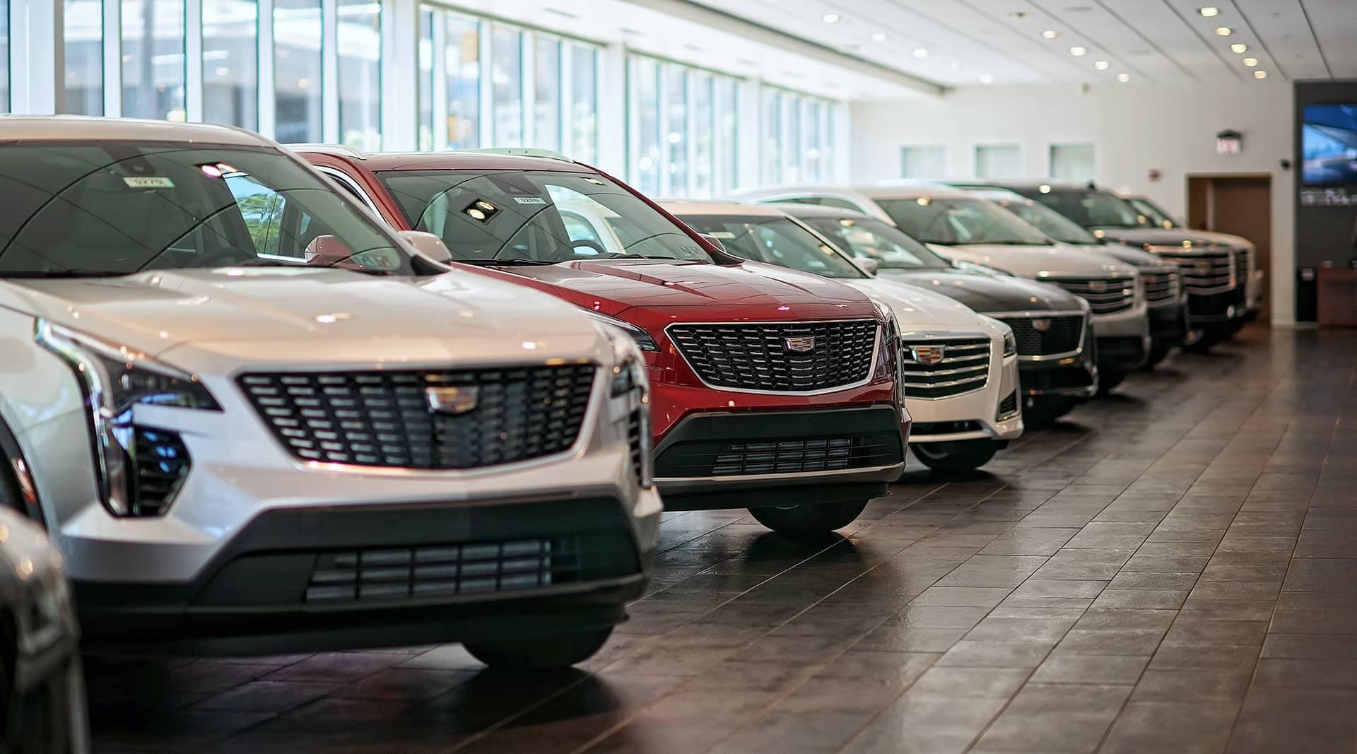 Rohrich Cadillac Showroom