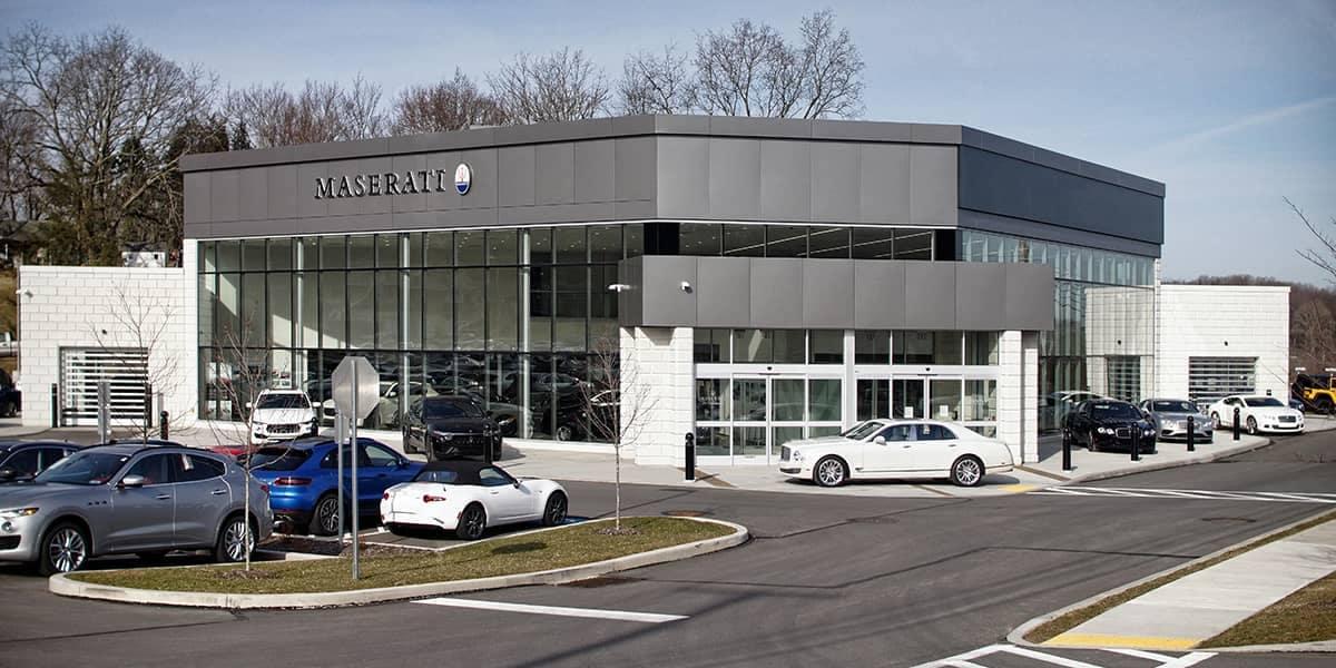 2014 Maserati building