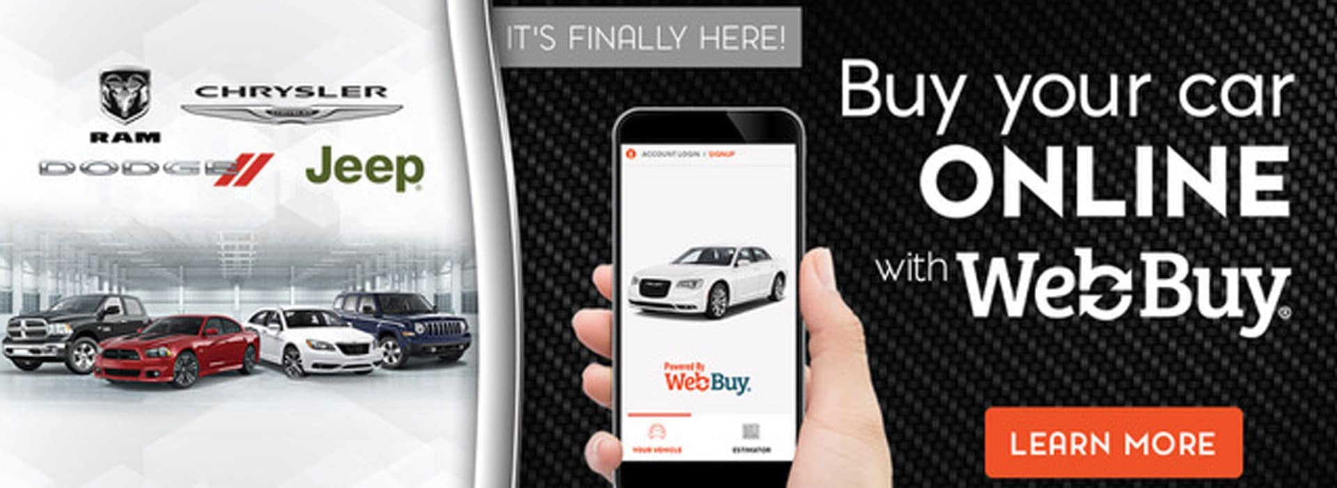 Buy your car online with WebBuy