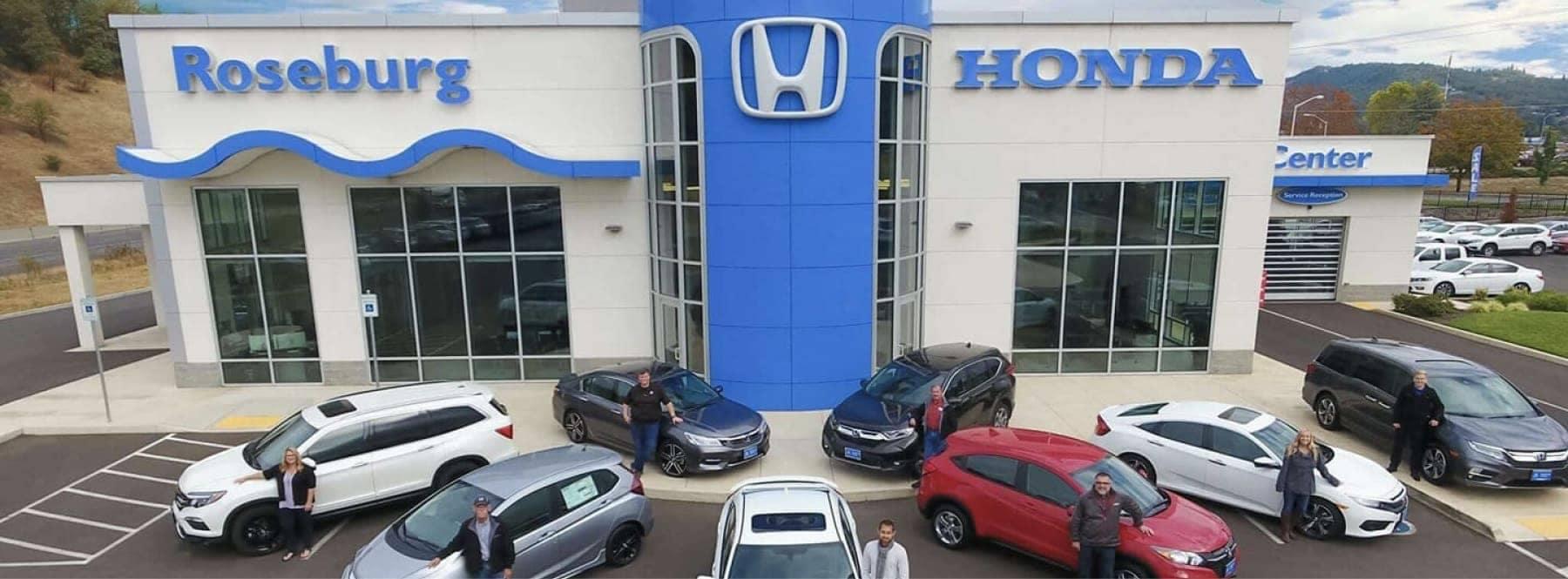 Roseburg Honda Dealership