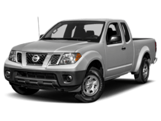 Nissan Frontier angled