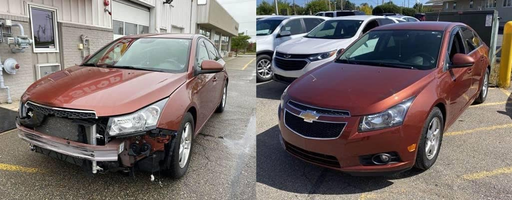 Front Bumper Damage
