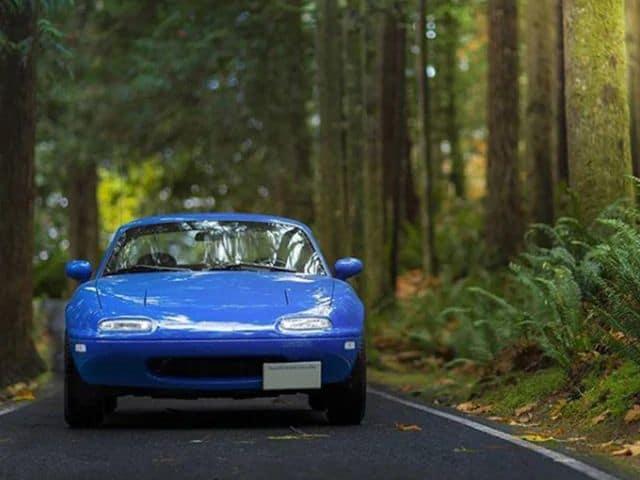 Blue-Mazda