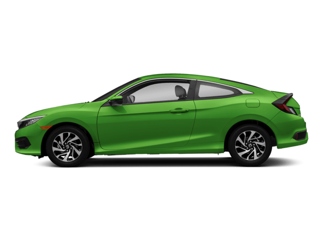 2018 Honda Civic Coupe Sideview