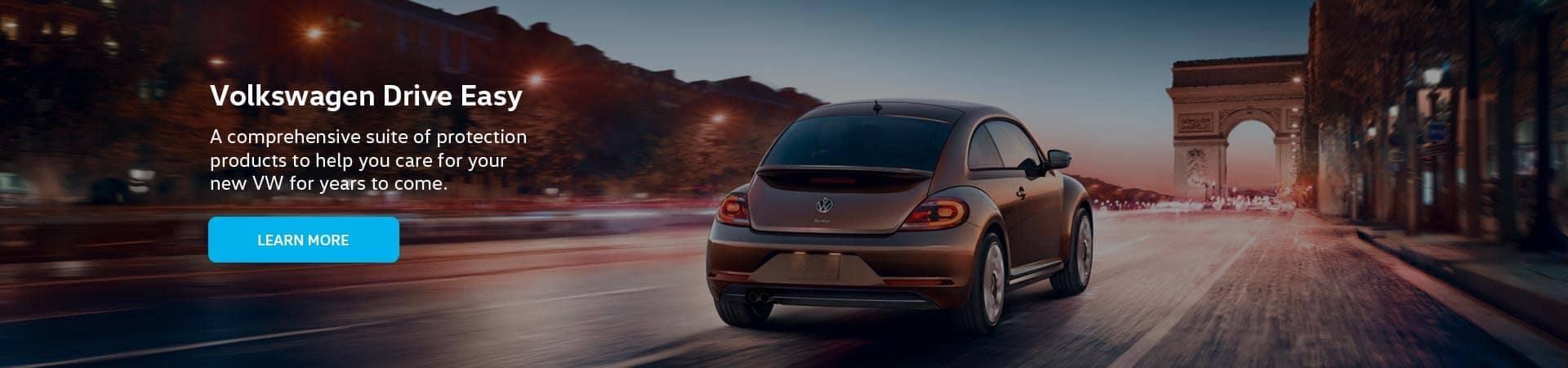 VW drive easy banner
