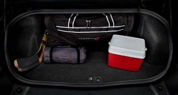 2018 Dodge Challenger cargo space