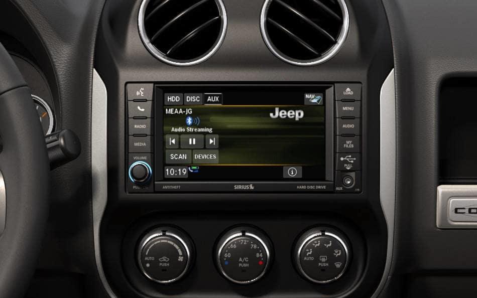 2015 Jeep Compass technology