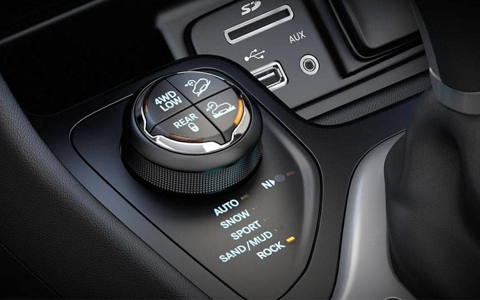 2016 Jeep Cherokee drive modes