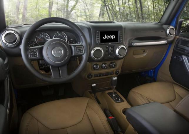 2015 Jeep Wrangler technology